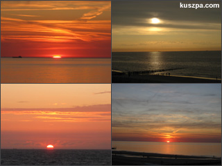 Great sea sunsets in Domburg