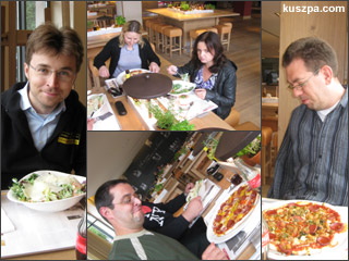 2009.09.10 Vapiano lunch