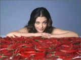 Aishwarya Rai likes Peperonis :o)