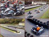 The kart race at Motodrom Hagen