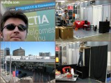 CTIA Wireless (setup day), San Francisco