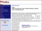2008 wird das Jahr des mobilen Internet - jedoch nicht in Deutschland?
