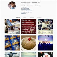 Mein Instagram Account