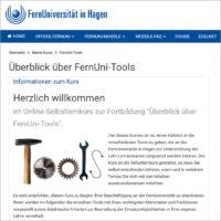 BOL-Kurs Überblick über FernUni Tools